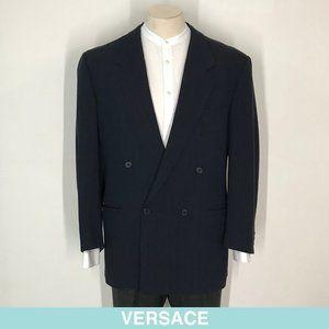 Versace blue blazer